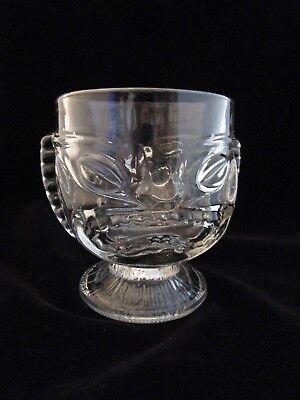 Tiki Mug Clear Glass