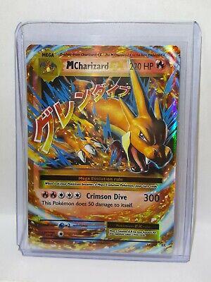 Mega Charizard EX 13/108 XY Evolutions Ultra Rare Pokemon Card