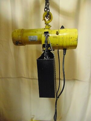 2 Ton Yale Budgit Electric Chain Hoist Lift