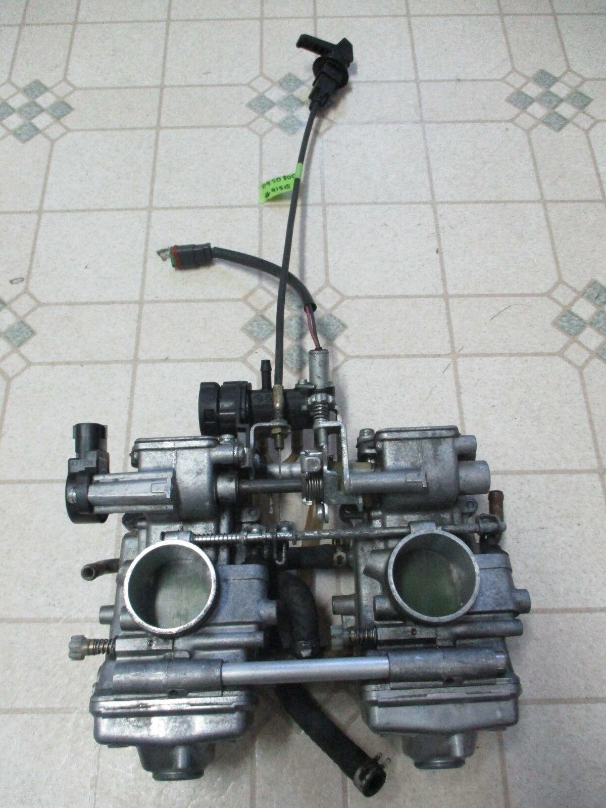09 Ski Doo 800R Snowmobile Mikuni Carburetors Carbs Summit REV MXZ 08 Power Tek