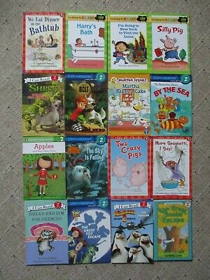 Lot of 16 Level 2 Young Reader I Can Read Children's Reading Girls Books EUC