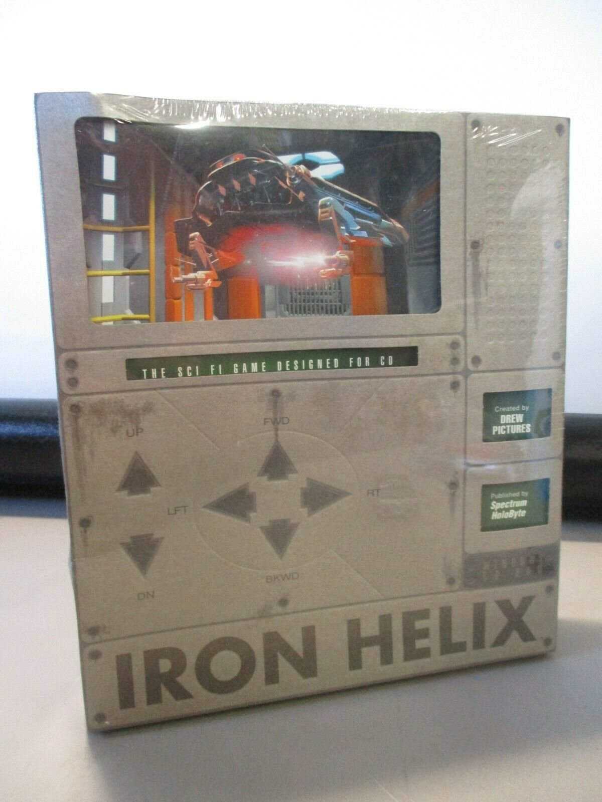 Computer Games - VINTAGE PC COMPUTER GAME CD ROM IRON HELIX SEALED GAME IN BOX