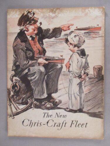 Chris-Craft CATALOG - 1931 ~~ boat, yacht