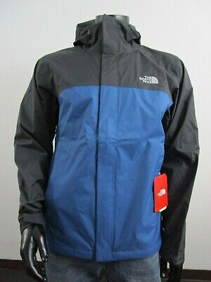 Mens TNF The North Face Venture 2 Dryvent Waterproof Hooded Rain Jacket Dish Blu
