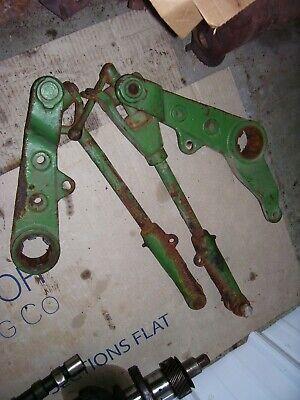 Vintage John Deere 2010 Ru Gas Tractor -3 Point Arms Links -both Adjust