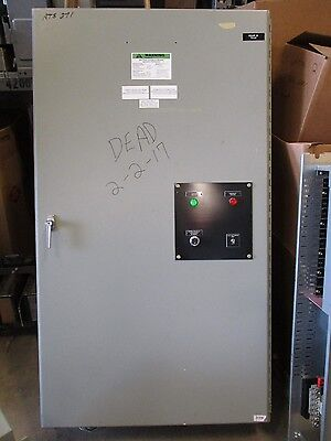 Russ Electric Rmtd4004ce 400 Amp 277480v Automatic Transfer Switch- Ats271