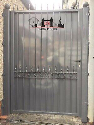 METAL GATE / GARDEN GATE / SIDE HOUSE GATE / WROUGHT IRON GATE / STEEL GATE