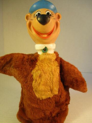 Vintage Yogi Bear Hand Puppet Plush Body - Hanna Barbara