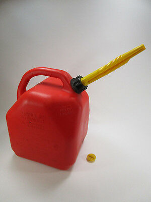 Vintage Scepter Plastic 5 Gallon Gas Can
