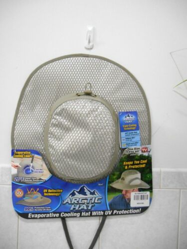 ARTIC HAT AS SEEN ON TV EVAPORATIVE COOLING HAT WIYH UV PROTECTION