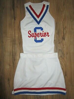 SUPERIOR Cheerleader Uniform Cheer Outfit Child Yth Teen 30