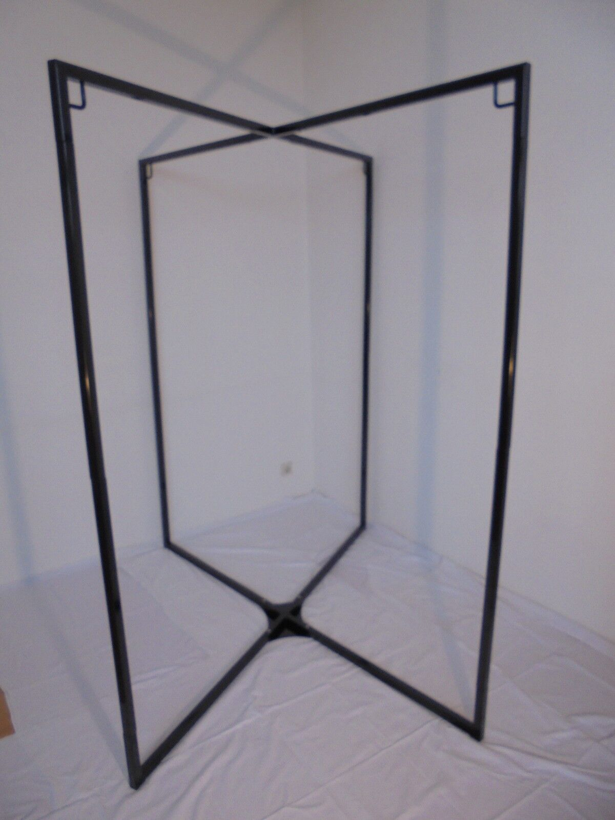 Slinggestell zerlegbar, schwarz pulverbeschichtet 1