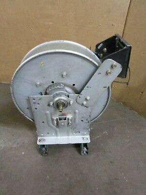 Hannay Reels N716-19-20j Tr 1870219 Spring Rewind Hose Reel W 25ft Oil Hose