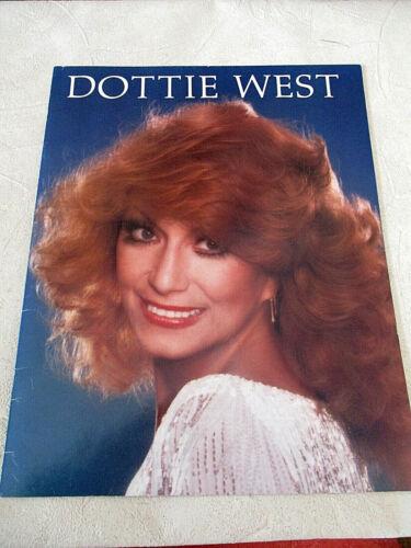 """Dottie West Concert Tour Program Book: Glossy Photos (11"""" X 14""""} w/Signature VG"""