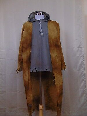 Street Zombie Adult Costume Halloween Top/Attached Jacket only OSFM #1376 - Street Zombie Costume