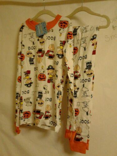 140 / 10 Hanna Andersson Peanuts Snoopy charlie Brown Halloween Pajamas boy girl