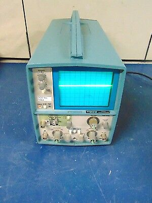 Tektronics T922 15mhz 2 Channel Analog Oscilloscope R864