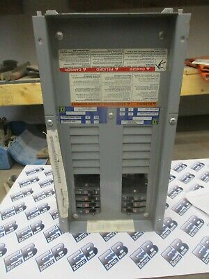 Square D Nqod424l100 100 Amp 3 Phase 120208v Panelboard Interior- E2357- New