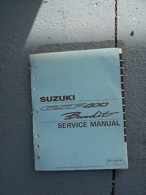 1991 - 1993 Suzuki GSF400 Bandit Motorcycle Service Manual  MORE IN OUR STORE  T