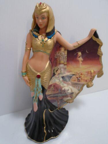 Cleopatra Figurine Goddess of the Nile Statue Bradford Exchange A0721