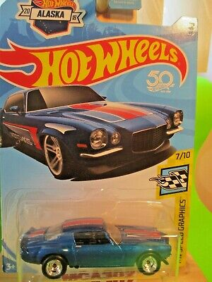 Hot Wheels 2020 Alaska Ed Super Kustom Treasure Hunt '70 Z/28 Camaro Real Riders