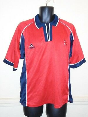 Nepal Home Football Shirt  2001-2002 medium men's  #1286 image