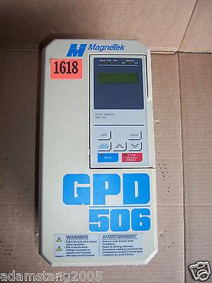 Magnetex Cimr-p5m40p7 40p71f Vfd Ac Drive 380v 460v 0-400 Hz 3.6 Amp Output