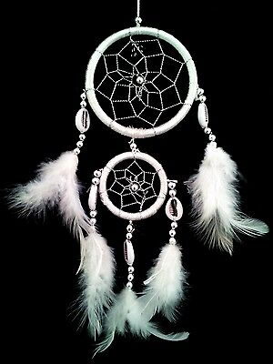 Handmade Dream Catcher with feathers car or wall hanging decoration ornament-2w