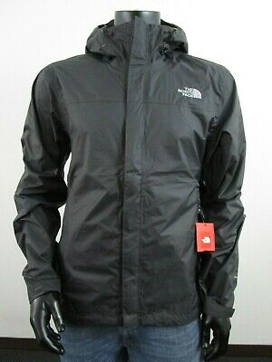 Mens TNF The North Face Venture Dryvent Waterproof Hooded Rain Jacket - Asphalt