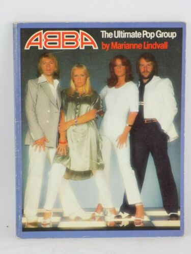 ABBA The Ultimate Pop Group by Marianne Lindvall - Paperback, 1977 VG Condition
