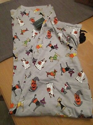 Rowley Dachshund Halloween Pants XS~Small~Medium~Large Pumpkin Witch Pajamas - Halloween Pj