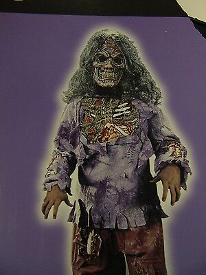 Boy's Zombie Halloween Dress-Up Costume Top and Mask Only Medium 8-10 - Top 10 Zombie Kostüm