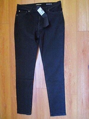 Saint Laurent Jeans Sz. 32 Woman Blacks ITALY