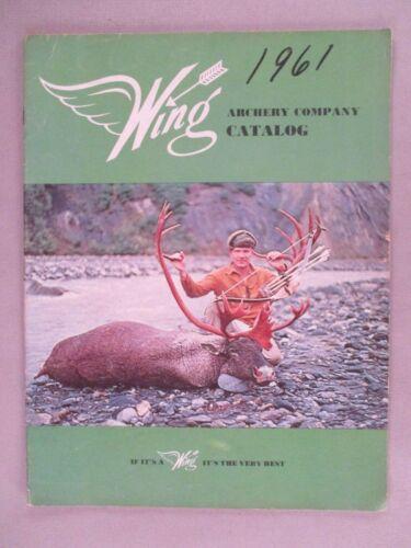 Wing Archery CATALOG - 1962