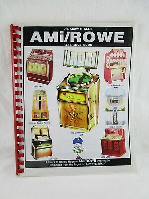 Dr. Know-It-All's AMI/Rowe Reference Book Used Free Shipping