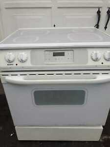 Kenmore glass-top stove, free delivery