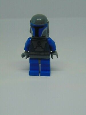 Genuine Lego Star Wars Mandalorian Death Watch Warrior  Mini Figure 9825/7914