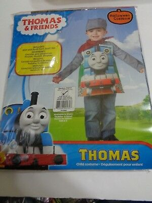 Boy Toddler Costumes For Halloween (Rubies Toddler Thomas Boys Halloween Costume SZ Small  4-6 For 3-4 Years)