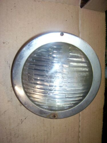 "VINTAGE  JI CASE ??  TRACTOR -4""   LIGHT  CHROME TRIM RING"