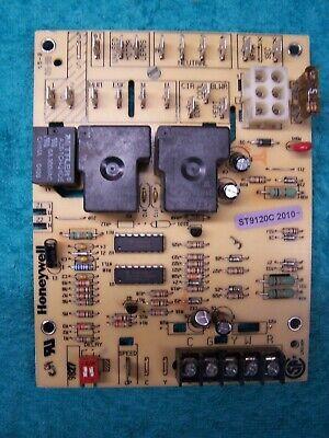 Honeywell St9120c2010 Furnace Fan Circuit Control Board St9120c-2010
