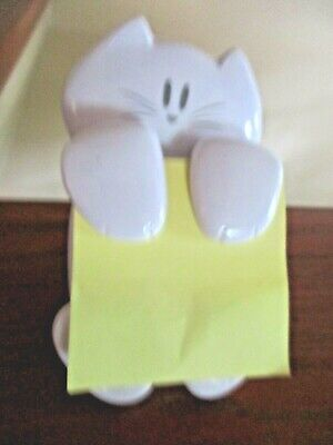 White Post It Cat 330 Pop Up Note Dispenser For 3 X 3 Note Pad