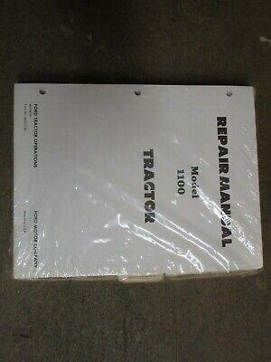 Ford 1100 Tractor Service Repair Manual