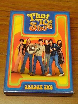 That 70S Show   Season 2  Dvd  2005