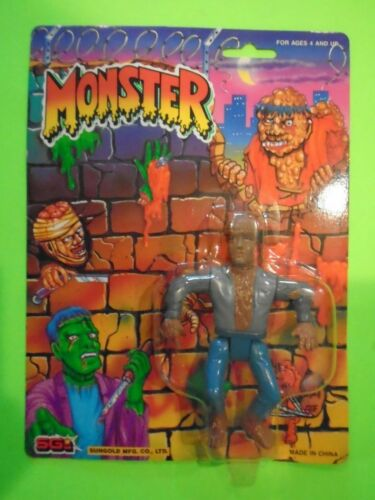 SUNGOLD MONSTER WOLFMAN UNIVERSAL MONSTERS FIGURE MOC EXCELLENT SEALED RARE
