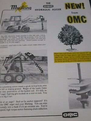 Owatonna Hydraulic Auger Allied Attachments Sales Brochures 2 Items
