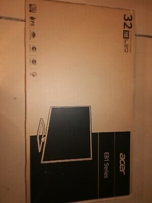 "Brand New Acer EB321HQ Abi Full HD IPS 31.5"" Widescreen LED LCD Monitor"
