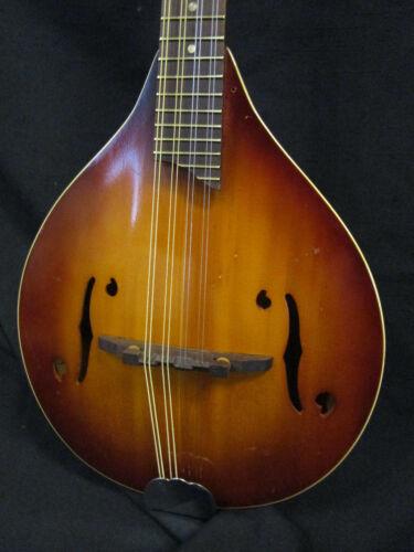 Vintage Harmony H8017 Monterey A-Style Mandolin w/case