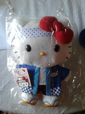 Hello Kitty Sushi Chef Afc 30Th Anniversary 10  Plush Doll New