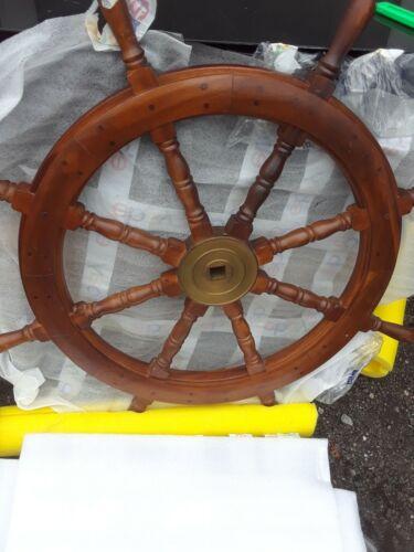 "wooden ships wheel 36"" diameter"