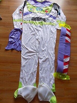 Adult Men's Size XXL 50-52 Disney Toy Story Buzz Lightyear Space Ranger Costume - Adult Buzz Light Year Costume